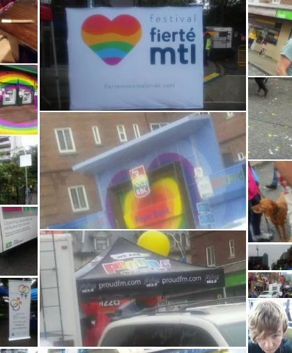 Toronto Pride collage day 1